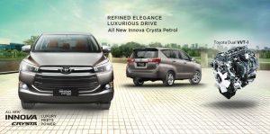 Harga Rental Mobil Toyota Kijang Innova Dengan Sopir Di Panaragan